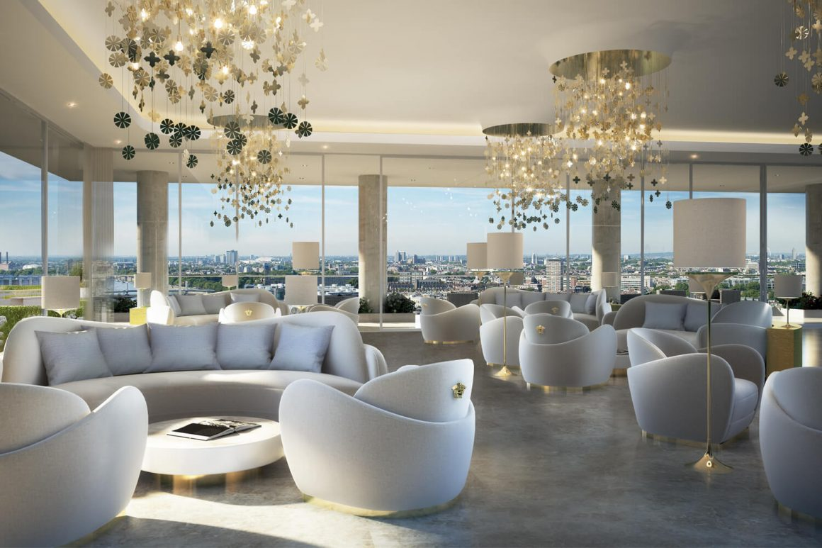 DAMAC Tower Nine Elms, London's First Fashion-Branded Residences with Versace Home Launched